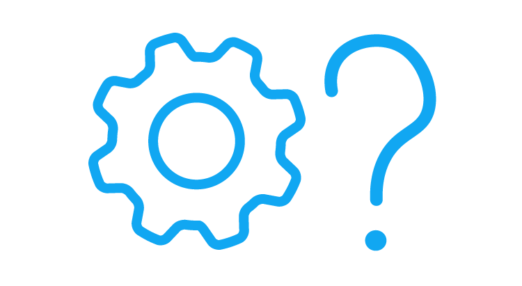 Cog and a question mark